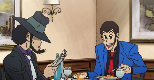 Lupin so happy carbonara